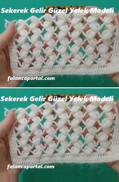 Crochet Hairband, Crochet Eyes, Crochet Diy, Crochet Motif, Crochet Shawl, Baby Knitting Patterns, Knitting Stitches, Diy Crafts Knitting, Crochet Edgings