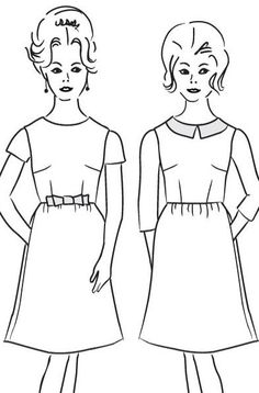 Emery Dress Sewing Pattern - by Christine Haynes - available for pre-order (shipping first week of October)