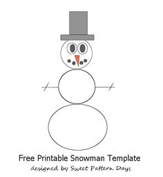 Cute Snowman Cupcake Toppers  Christmas Printables