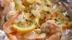 Foil-Pack Shrimp Scampi  - Delish.com