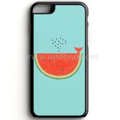 Watermelon Whale iPhone 7 Case   Aneend.com