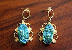 Druzy Earring – Desically Ethnic