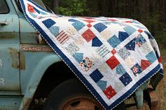 IDEA - for quilt of valor - L7 QUILTS: What an honor...