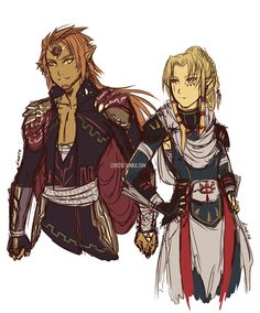 More: x After seeing debri-art's beautiful gerudo Link (GO CHECK IT OUT IF YOU HAVEN'T) yesterday, I couldn't stop thinking about the possibilities! Hence this was born. A Zelda AU were Ganondorf has taken over, destroyed the hero and the princess,...- Legend of Zelda