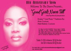 Good Girls Never Tell - The Play 5-16-14 - What To Do In Baltimore?