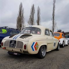 Renault Dauphine Gordini #renault