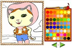 SHERIFF CALLIE COLORING BOOK - SHERIFF CALLIE GAMES