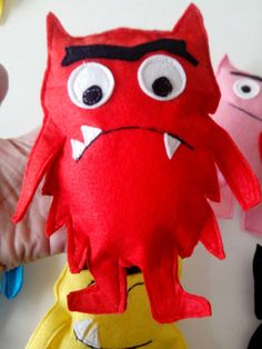 The colour monster (pack - Rebel Without Applause Kindergarten, Felt Stories, Emotion, Books For Boys, Diy Games, Monster, Dinosaur Stuffed Animal, Homeschool, Creations
