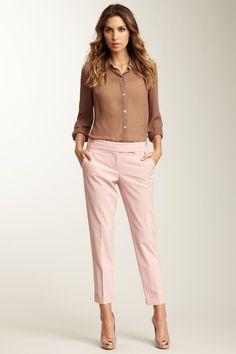Trina Turk Margot Pant in Blush