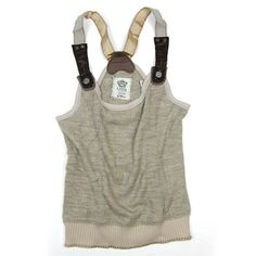 Suspender Sweater Tank   ***Giving me ideas***