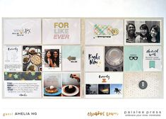 paislee press Creative Team Inspiration | For Like Ever