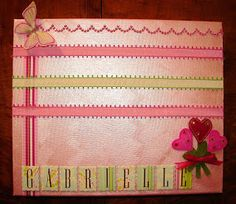The Quick Unpick: Looking back - Canvas & Ribbon hair clip board