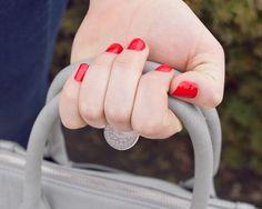 Dreamy Dandelion ring by Lauren Jordan.
