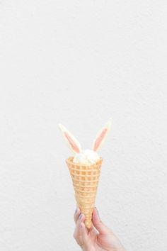 DIY Bunny Ear Ice Cream Cones | Studio DIY®