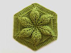 Embossed-Crochet-Hexagon-Motif-e1489464023743.jpg (1000×750)