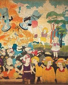 artfashioncankill: Homage to the great Henry Darger.