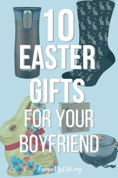 Gift guide filled with the best easter gifts for your boyfriend that he'll love. Click here to find great and original Easter gifts for your boyfriend on this Easter gift guide. #giftguide #giftsforhim #eastergifts #easter2020 #fudgemylife