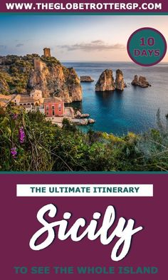 The Ultimate 10 day Sicily Itinerary - The Globetrotter GP Sicily Travel, Italy Travel Tips, Top Travel Destinations, Italy Destinations, Travel Europe, Europe Holidays, Italy Holidays, Beautiful Places To Visit, Cool Places To Visit