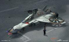 sci fi aircraft - Google Search