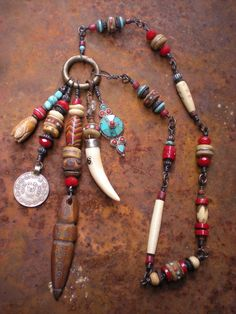 Dreaming of Tibet Amulet Necklace by maggiezees on Etsy, $185.00