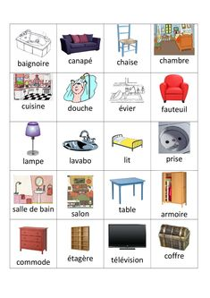 French Language Lessons, French Lessons, English Lessons, Basic French Words, French Phrases, Learn French Beginner, French For Beginners, French Flashcards, French Worksheets