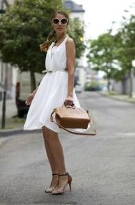 There are so many beautiful white dresses for the upcoming 2015 summer season.