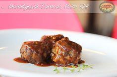 Almôndegas de Carne ao Molho Roti www.familiatagliari.com.br www.facebook.com/familiatagliari