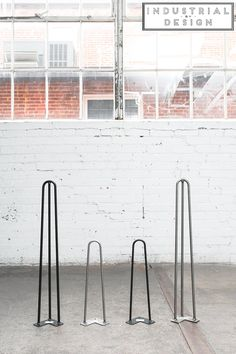 Industrial Strength Hairpin Legs ▫ Mid Century Modern ▫ Set of 4 Table Legs ▫ Free Shipping on Amazon.com's #1 Best Selling Hairpins