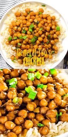 s Chickpeas General Tso&;s Chickpeas Healthier Steps healthiersteps Healthier Steps General Tso&;s Chick Peas (Vegan Gluten-Free) is a delicious and healthy alternative […] broccoli videos Cauliflower Recipes, Veggie Recipes, Vegetarian Recipes, Cooking Recipes, Healthy Recipes, Vegan Vegetarian, Vegan Chickpea Recipes, Breakfast Recipes, Dinner Recipes