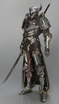 New Ideas concept art fantasy warrior armors Fantasy Character Design, Character Concept, Character Inspiration, Character Art, Zbrush Character, Character Modeling, Design Inspiration, Fantasy Warrior, Fantasy Weapons