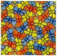 Maurits Escher- Butterfly