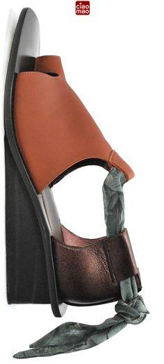 Cheiro de Terra molhada... - Sandália VYRSANA - Women's sandals of the Brazilian brand CIAO MAO - www.ciaomao.com
