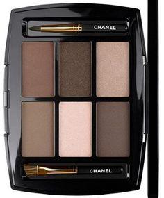 Les Bruns de Chanel- great everyday neutral eyeshadow palette!