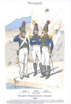 Band IV #55.- Neapel. Königlich Neapolitanische Truppen. 1821.
