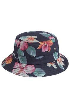 The Aloha Aina Bucket Hat in Black