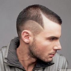 Geometric Shaved Head Cut For Guys ❥❥❥…