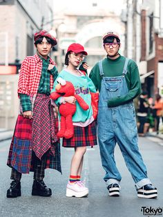 Color-Coordinated Harajuku Street Fashion w/ Punyus, WEGO, Spinns, Yosuke & Sevens