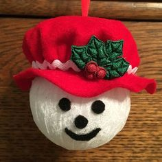 s 16 quick crazy cute ornaments for the busy holiday decorator, christmas decorations, seasonal holiday decor, Fabric Mrs Frosty