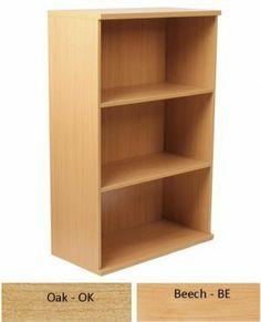 Newbury 25 Three Shelf Wooden Bookcase - Beech or Oak : Newbury 25 Three Shelf Wooden Bookcase - Beech or Oak For More Information Visit http://www.atlantisoffice.com/newbury-25-three-shelf-wooden-bookcase-beech-or-oak-p-924.html