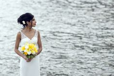 So beautiful -- bride on the Amalfi Coast | Photographer: Gianni Di Natale