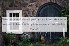 Harry Potter Next Generation Character Confessions... but of course it would be at the burrow.