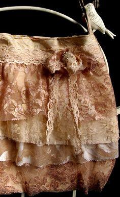 antique lace ruffles