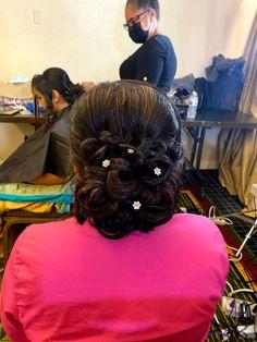 Bridesmaids Hairstyles, Bridesmaid Hair, Hair Styles, Hair Plait Styles, Hair Makeup, Hairdos, Haircut Styles, Hair Cuts, Bridesmaid Hairstyles