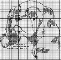 C Cross Stitch Alphabet, Cross Stitch Animals, Cross Stitch Charts, Cross Stitch Designs, Cross Stitch Patterns, Cavalier King Charles, King Charles Dog, Cross Stitching, Cross Stitch Embroidery