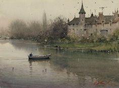 ATIST I Joseph Zbukvic I Watercolor