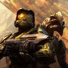 Halo: Master Chief and The Arbiter
