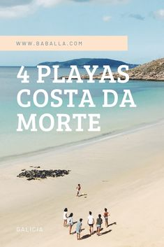 4 Playas de la Costa da Morte | Baballa un blog de familiaBaballa un blog de familia Travel Around The World, Around The Worlds, Places Ive Been, Places To Go, Travel Guides, The Good Place, Spain, Wanderlust, Vacation