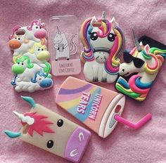 Cell Phone Cases - Toutes sortes de coques licornes - Welcome to the Cell Phone Cases Store, where you'll find great prices on a wide range of different cases for your cell phone (IPhone - Samsung) Ipod Cases, Cute Phone Cases, Iphone Phone Cases, Cell Phone Deals, Cell Phone Covers, Diy Cape, Telephone Iphone, Unicorn Phone Case, Unicorn Room Decor