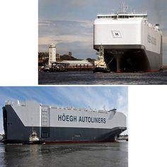 این کشتی بزرگترین وسیله برای انتقال ماشین است که پس از سفر خود از چین به انگلستان رسیده است.فضای عرشه آن چیزی ده برابر یک زمین فوتبال است که معادل هفتاد و یک هزار و چهارصد متر مربع است با توجه به این فضای خیره کننده این کشتی قادر است که هشت هزار و پانصد وسیله نقلیه را حمل کند.این کشتی دارای طول دویست متر و عمق سی و شش متر است.تفاوت این کشتی با سایر کشتی های باربر این است که درب های متعدد باعث می شود که ماشین هایی با سایز های گوناگون توسط این کشتی حمل شود