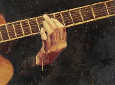 This painting cannot describe the beauty of the artists playing their guitars in Spain, but I love the picture :) Pretty Art, Cute Art, Painting Inspiration, Art Inspo, Paradis Sombre, Arte Indie, Images Esthétiques, Art Hoe, Classical Art